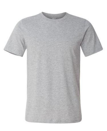 Mens Grey Color Super Combed T-Shirt  ----------   Rs 145/ Piece
