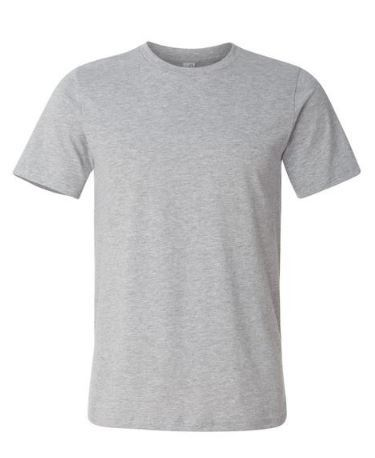 Mens Grey Cotton T-Shirt  ----------   Rs 70/ Piece