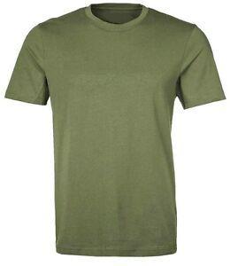 Mens army color cotton t shirt