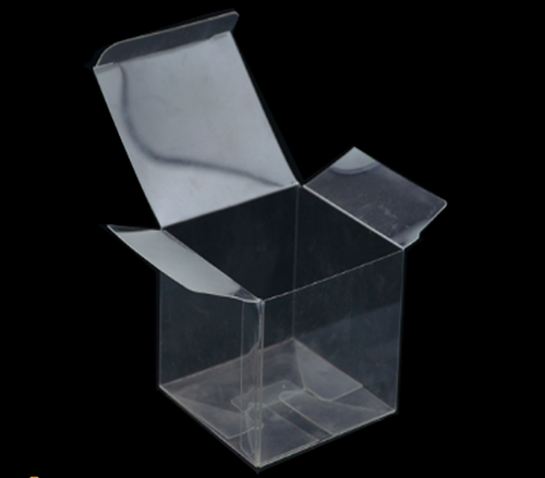 New style transparent PVC packaging box 5*5*5cm