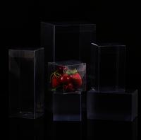 Custom Transparent Clear PVC PET Folding Plastic Box With Hanger