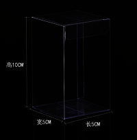 Transparent PVC PET Folding Plastic Box With Hanger