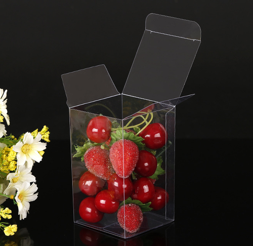 Clear PVC PET Folding Plastic Packaging Box