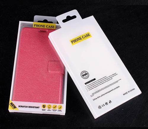 PET Custom Plastic Folding Blister Packaging Box For Mobile Phone Case