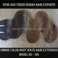 100% Unprocessed Burgundy Ombre Hair Extensions Human Hair Weave Bundles