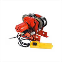 Wirerope Electric Winch Trolley