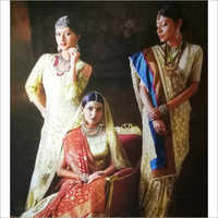 Bridal Wear Saree-WA0012