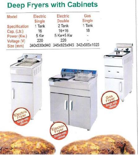Deep Fryers With Cabinet