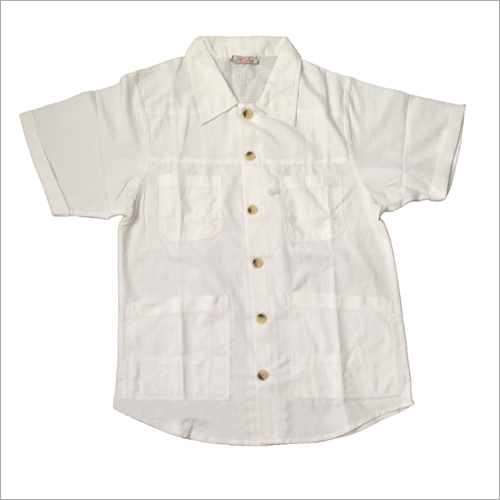 Industrial Mens White Shirt
