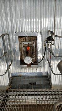 Super heater zone sonic soot blower