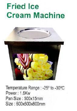 Fried Ice Cream Machine