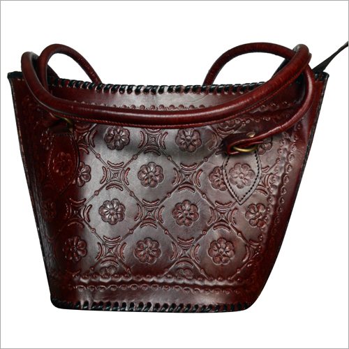 Ladies Leather Tote Hand Bag