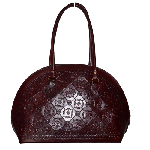 Ladies Leather Designer Hang Bag