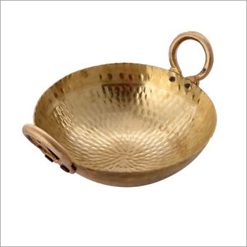 Heavy Weight Pure Brass Kadai
