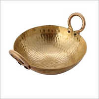Heavy Weight Pure Brass Kadai