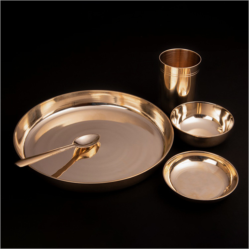 Bronze Breakfast Thali Set