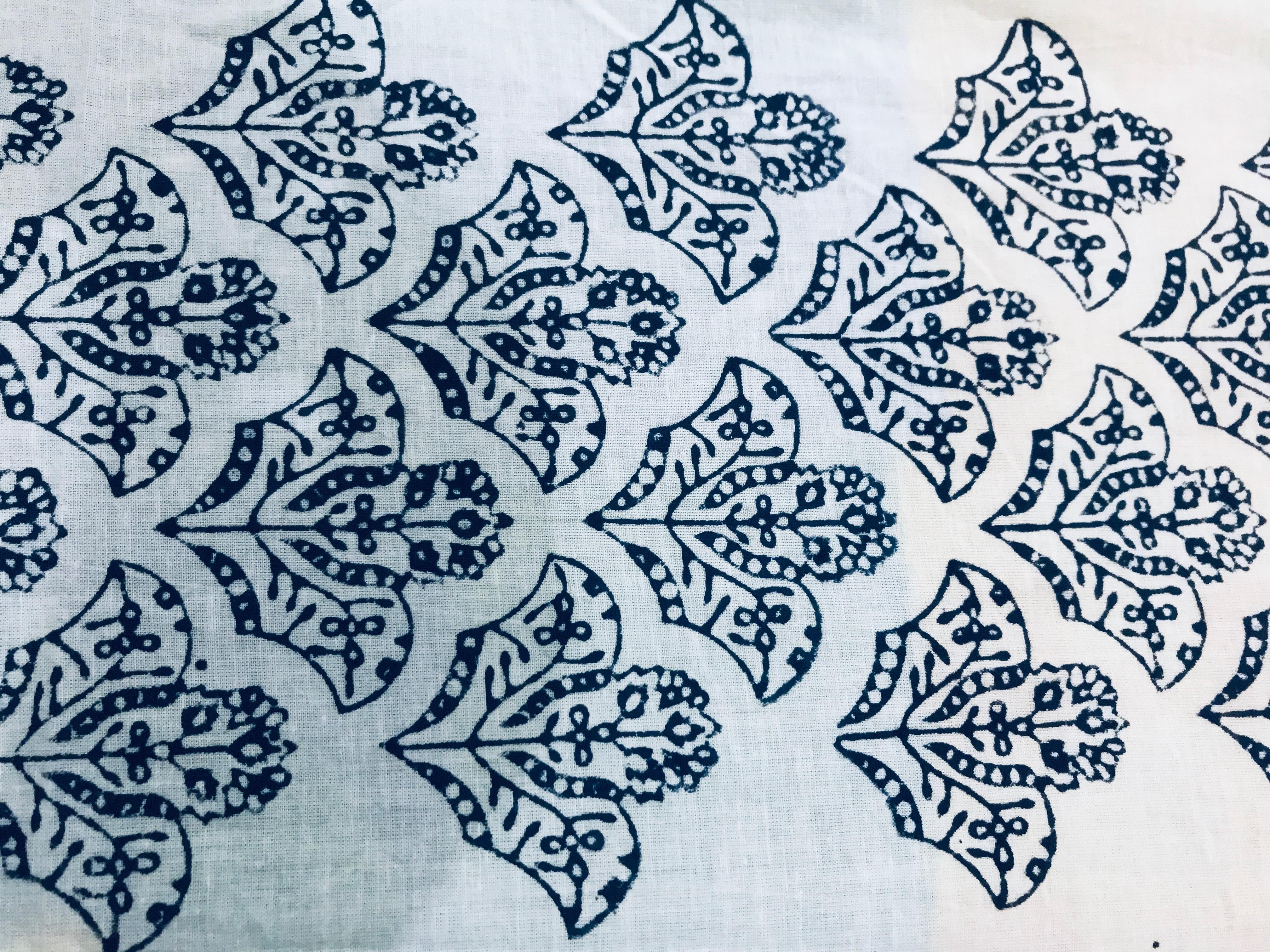 Hand Printed Running Fabric