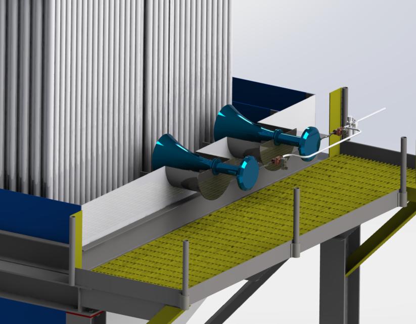 Sonic Soot blower for Electrostatic precipitator