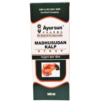 Ayurvedic Herbal Anti Diabetic- Diabetes Defeater - Ayursun Madhusudan Kalp Powder