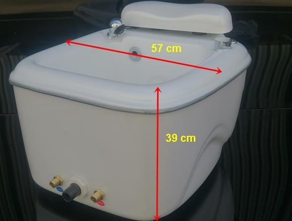 Portable foot spa tub