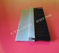 Nylon Bristle PVC Strip Brush with Aluminium Holder