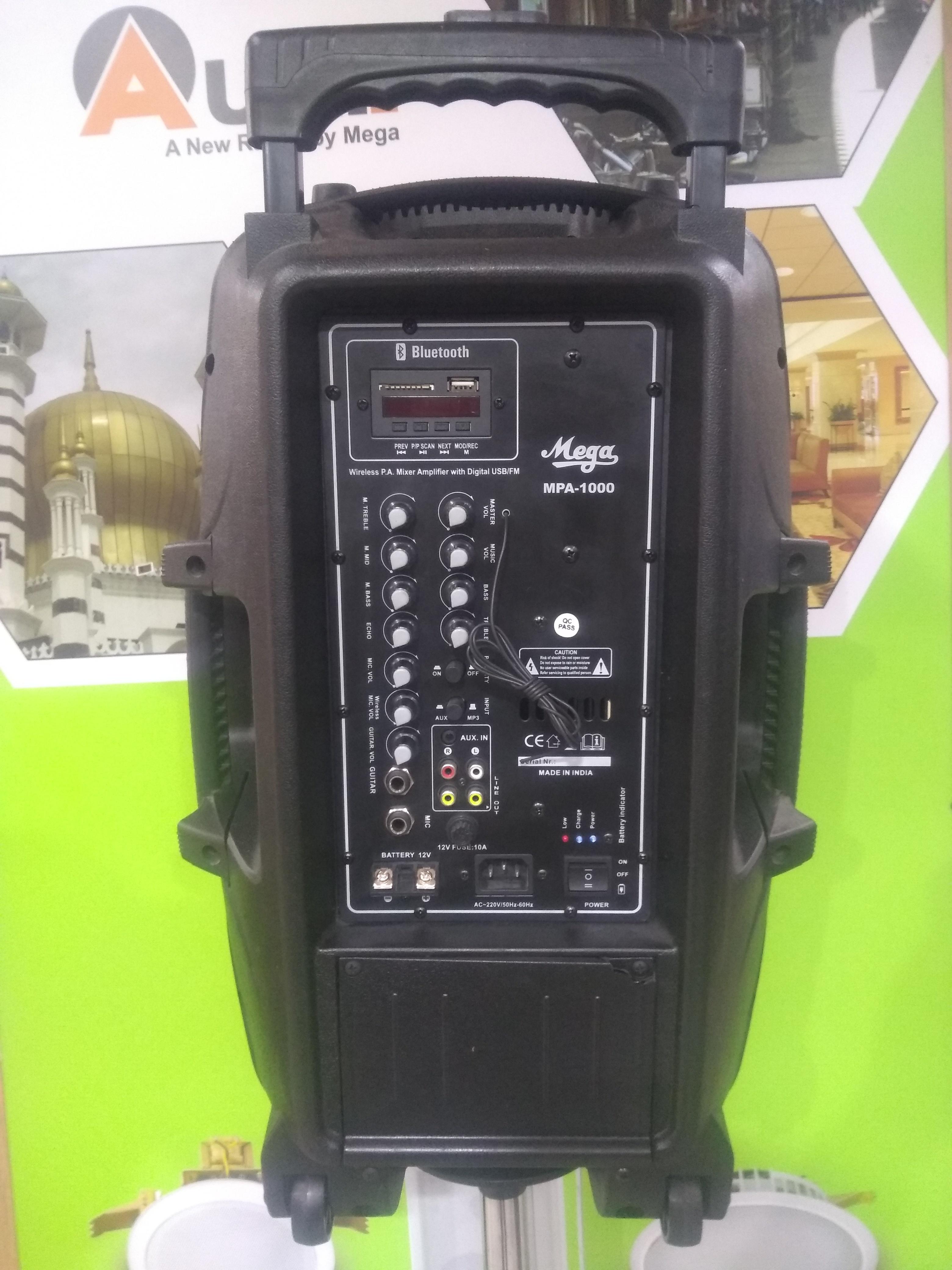 Portable Speakers MPA-10000