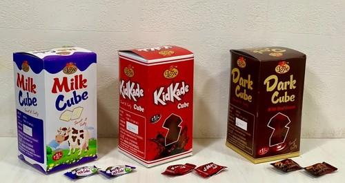 Milk Cube, KidKade Cube and Dark Cube
