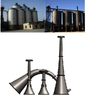 Acoustic horn for Cement silo.