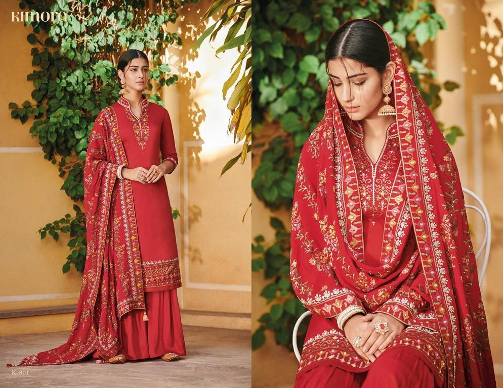 Embroidery Work Palazzo Suits