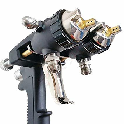 Double Nozzle Paint Spray Gun