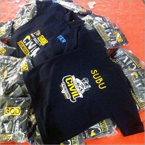 Boys Customzied Print School Uniform T-Shirt