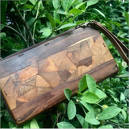 Wooden Ladies Wallet