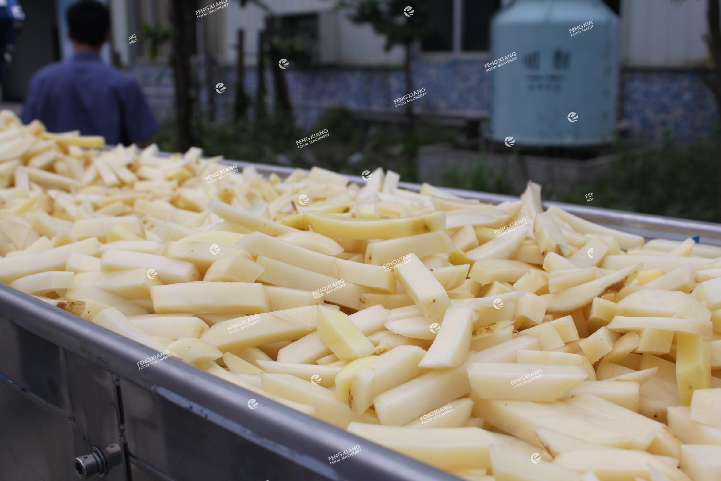 Frozen French Fries Making Machine
