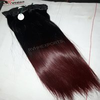 Single Drawn Human Color Hair Extensions