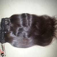 Unprocessed Natural Straight Machine Weft Hair 100% Brazilian Human Weft Hair