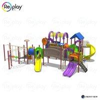 Outdoor Kids Play Area