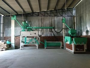Grading and Cleaning Plant