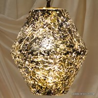 Antique Glass Wall Hanging Lamp