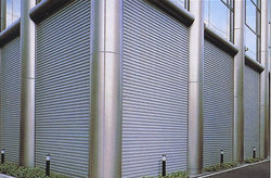 Galvanized Rolling Shutters