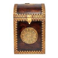 Home Decorative Brass Fitted Wooden Wine Bottle Designer Box
