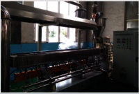 Plastic recycling machine Co-paraller twin screw granulating machine