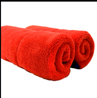 Dual Plush Microfiber Car Towel