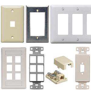 Hubbell Plates/ Frames/ Housings
