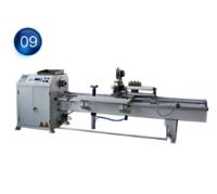 TWC36-C Lifting roller type horizontal nc wrapping machine