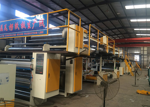 5 Ply Corrugated Paperboard Production Line