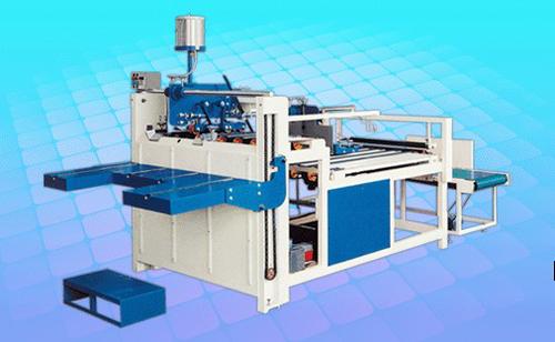 Semi Automatic Carton Folding Gluing Machine 3000mm For Carton Box