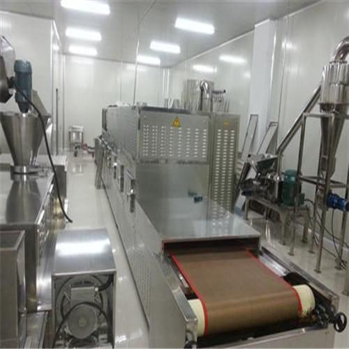 Tunnel Conveyor Microwave Shrimp Dryer