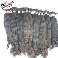 Bulk Weft Extension Remy Silky Straight Wave