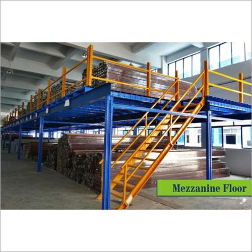 Modular Mezzanine Floor With Staircase