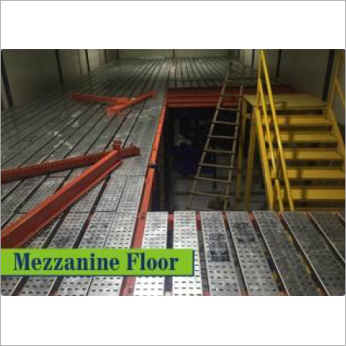 Modular Mezzanine Floor With Staircase